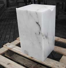 photo of a chunk of marble